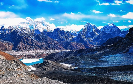 Gokyo-Ri Everest Base Camp trek via Chola-La Pass